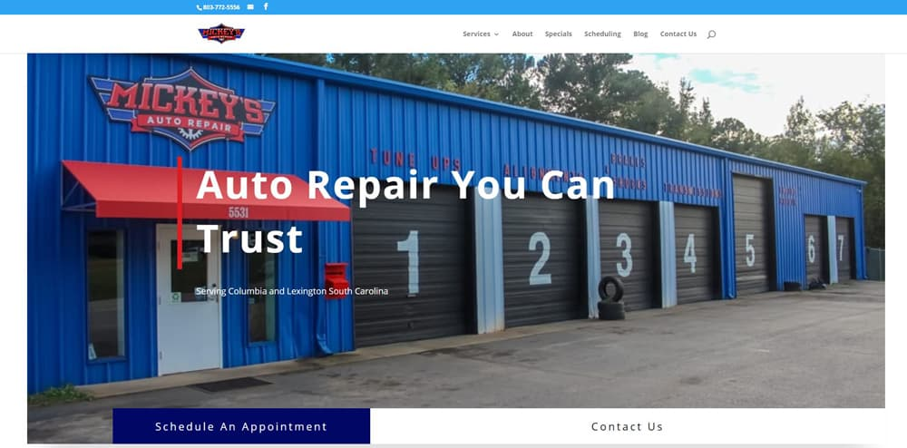 Mickeys Auto Repair Lexington SC