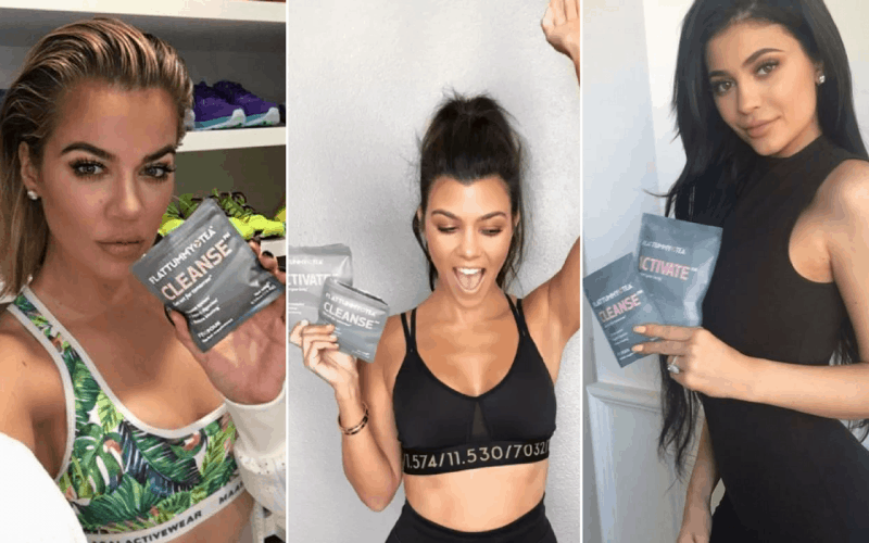 Influencer Marketing with the Kardashians and Flat Tummy Tea