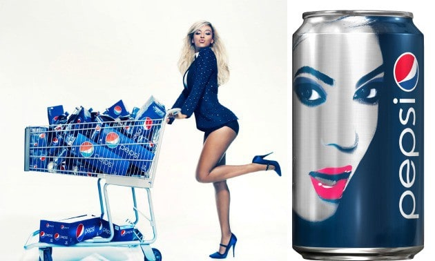 influencer marketing with beyonce drinking pepsi