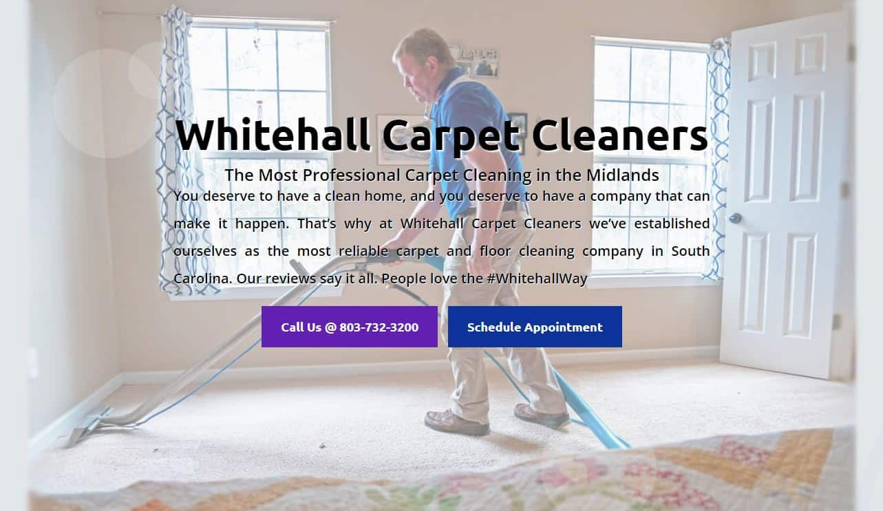 Whitehall Carpet Cleaners Website
