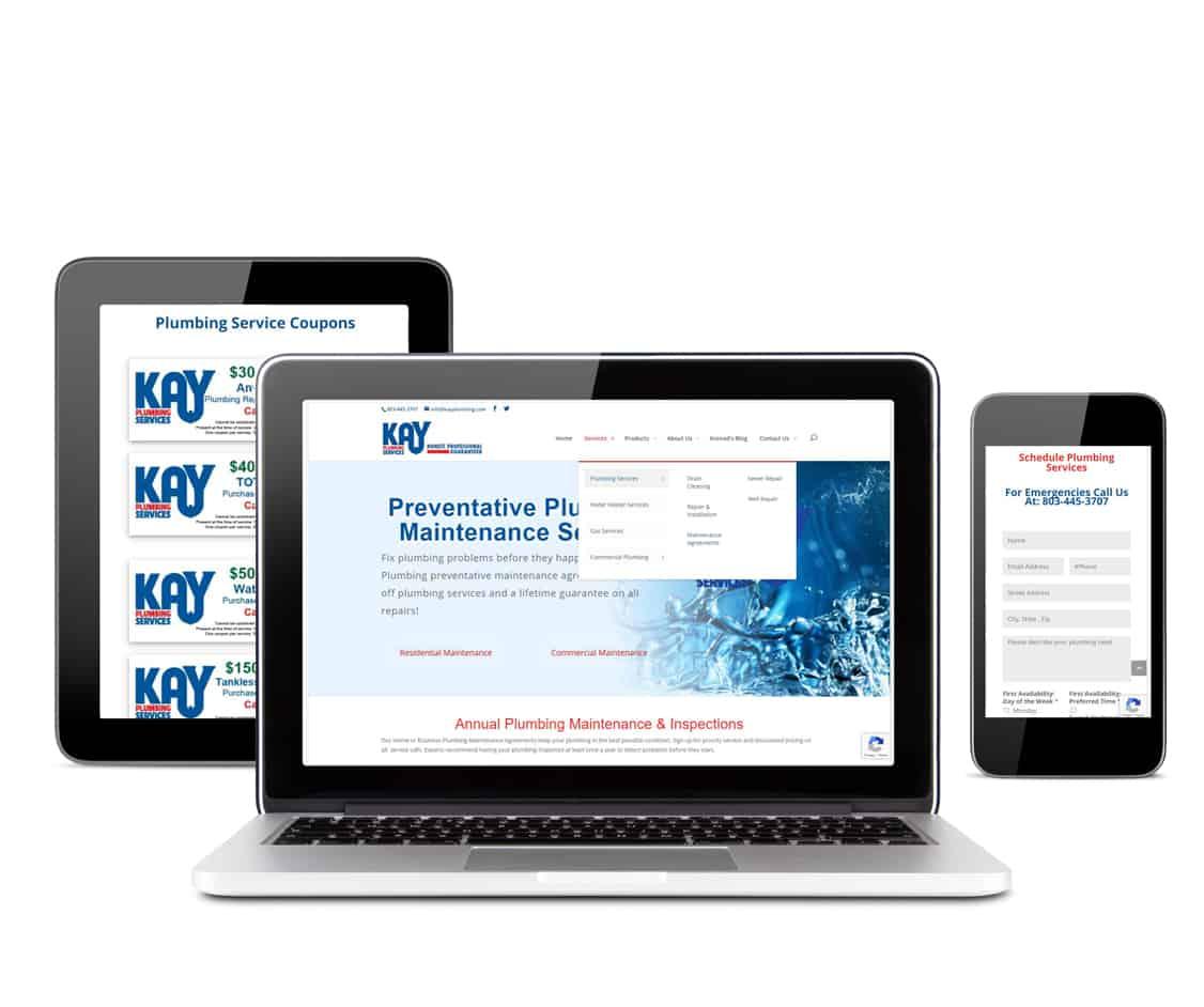 Mobile website design helps generate leads