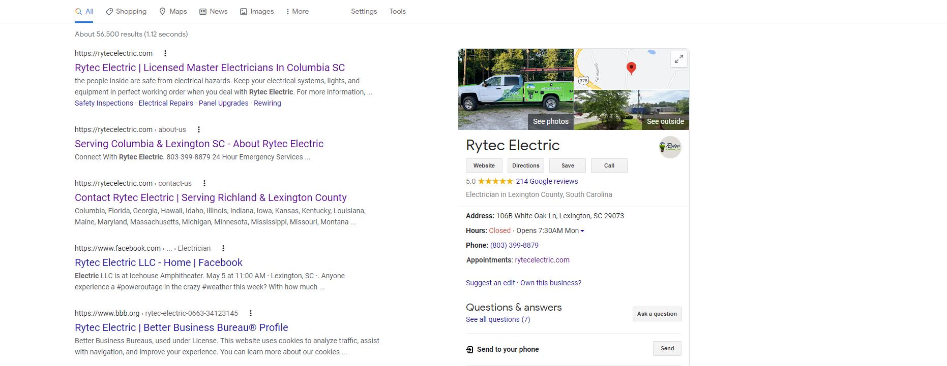 Rytec Electric is the best in the midlands